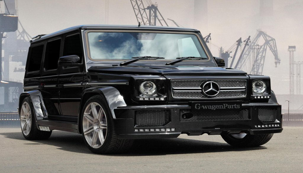 Mercedes g class parts body kits for Mercedes benz g class parts
