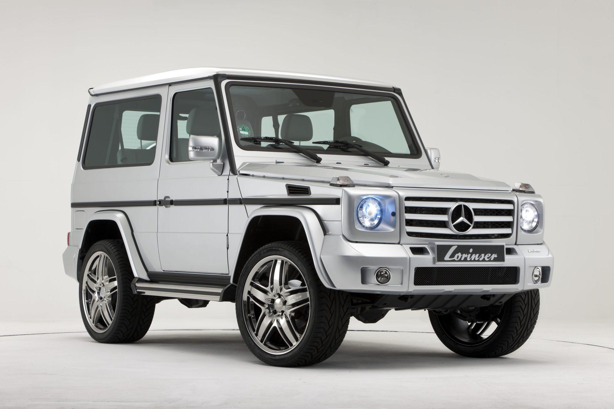 Lorinser g class w463 front bumper for parktronic for Mercedes benz g class parts