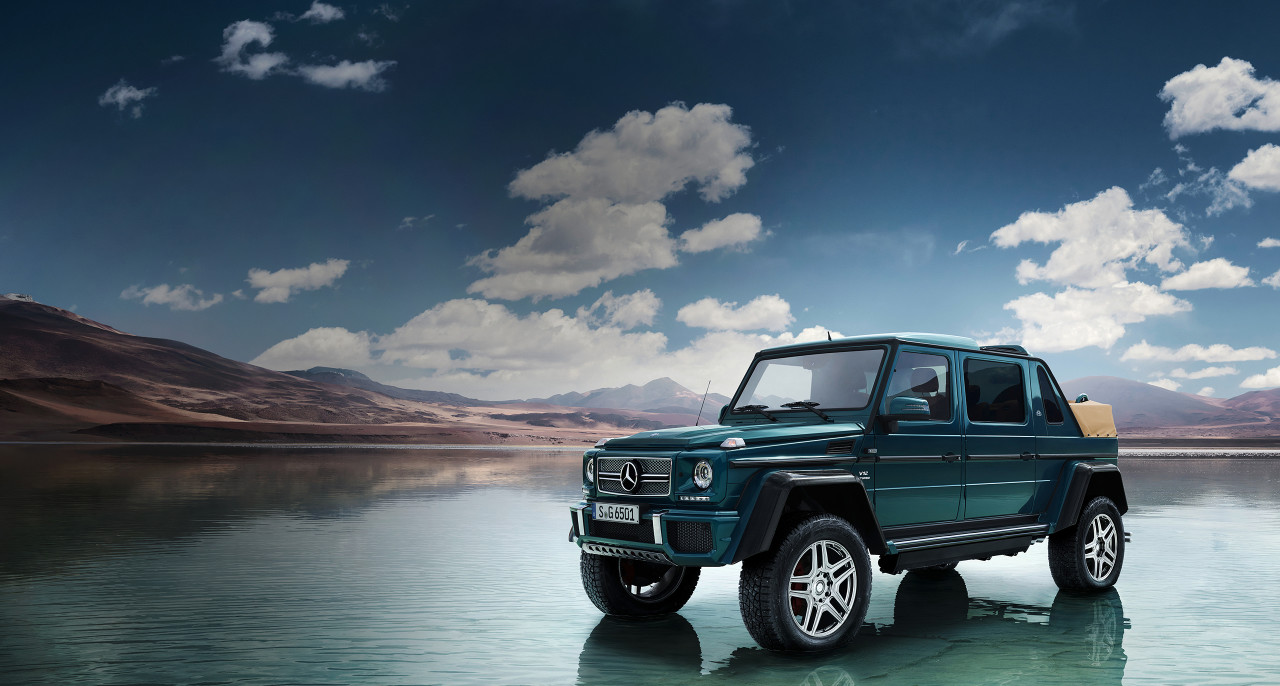 The new mercedes maybach g 650 landaulet for Mercedes benz 650