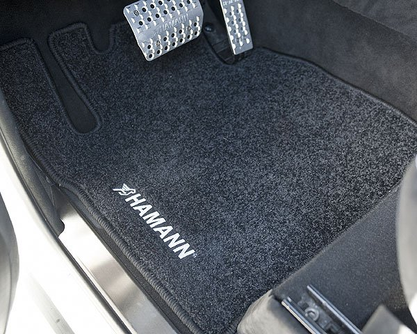 Hamann floor mats for mercedes benz g class g55 w463 for Mercedes benz mats