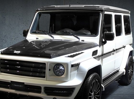 Mansory air outtakes frame cover for mercedes benz g class for Mercedes benz g class parts