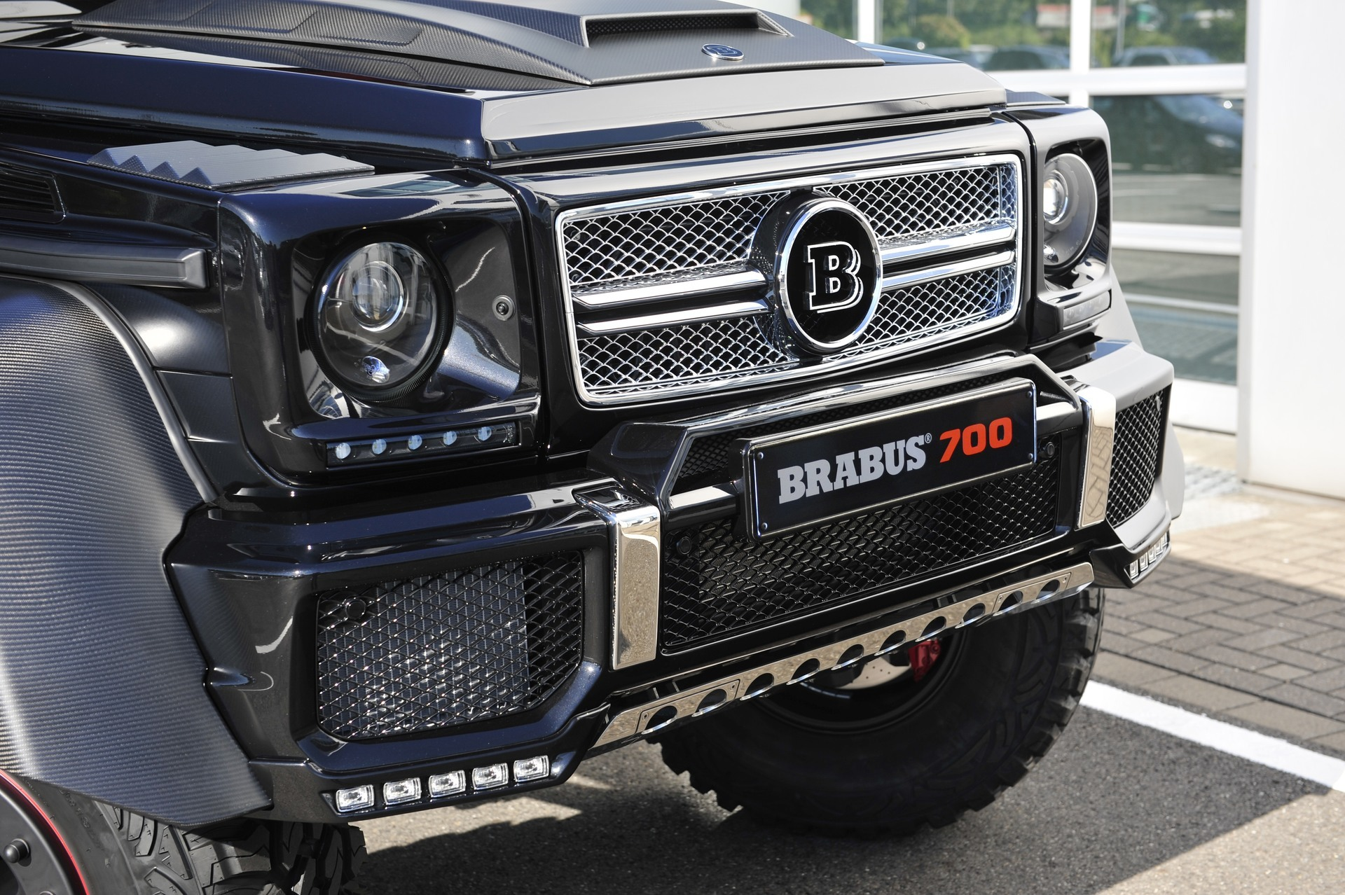Brabus G63/G65 AMG Front Bumper Add-on