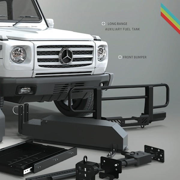 g wagen bull bar winch bumper by front runner mercedes g class parts. Black Bedroom Furniture Sets. Home Design Ideas