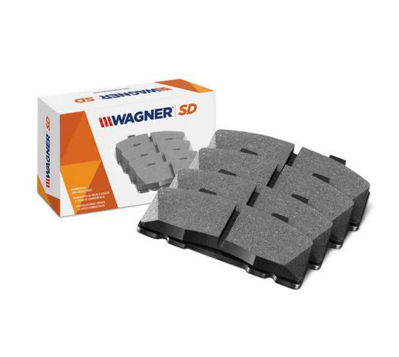 Wagner® - SevereDuty™ Semi-Metallic Rear Brake Pads for G55 AMG 2010