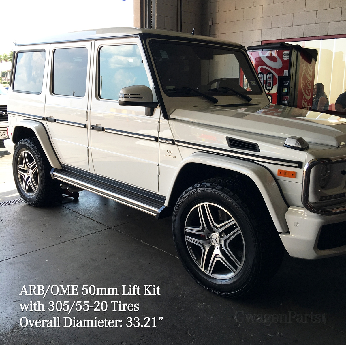 Mercedes G-class (W463) ARB/OME 50mm Lift Kit (with front bar)
