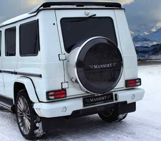 Mansory rear bumper for mercedes benz g class g63 for Mercedes benz g class parts