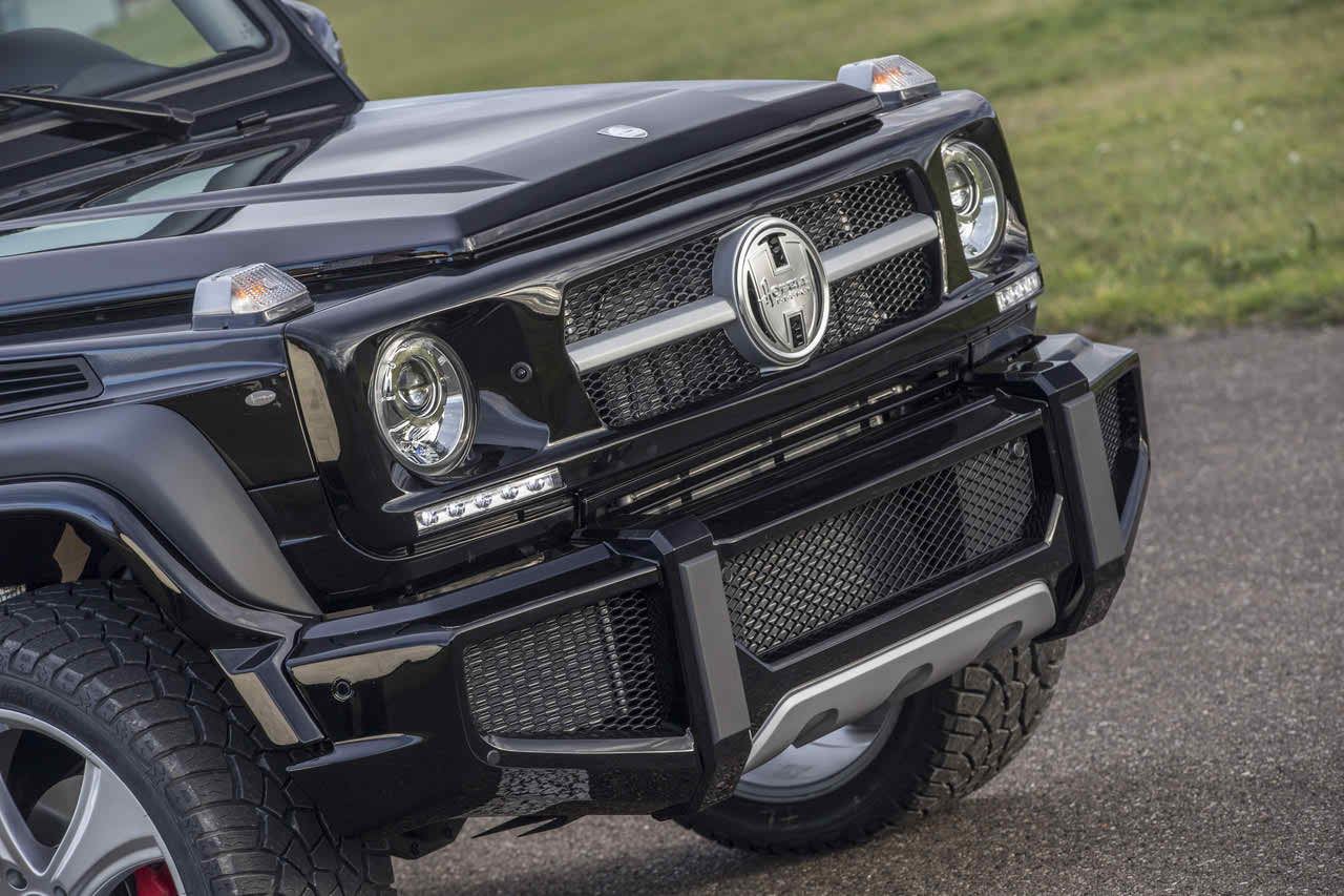 Hofele Design Mercedes G-Wagen Front Bumper