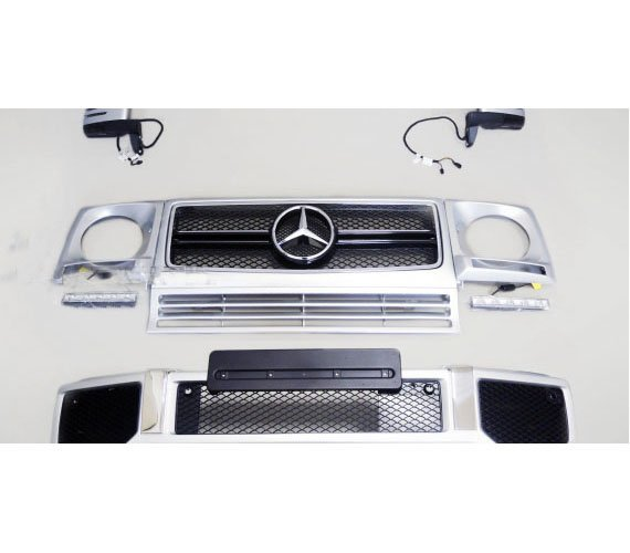 Amg G63 Silver Conversion Body Kit For G Class W463 Gwagenparts