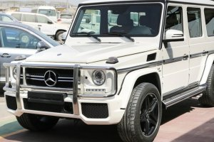 Mercedes Benz Amg G63 White Facelift Set For G Wagon W463