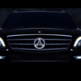 Illuminated led mercedes benz star archives gwagenparts for Mercedes benz led star