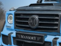 Mansory Carbon Fiber Middle Cover for Grill Mask for G-Class