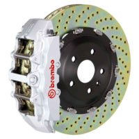 Brembo GT 380MM Silver 1G1.9026A3 Big Brake Kit for 2005-11 G55
