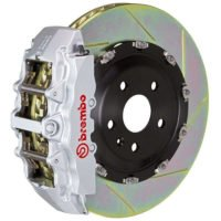 Brembo GT 345MM Silver Big Brake Kit for 2002-08 G500