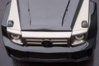 FAB Design SHAHIN Bi-Color Engine Bonnet For G-class W463