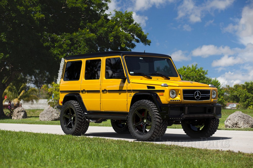 WB 4-inch Lift Kit for Mercedes G-class W463 with Steering ...