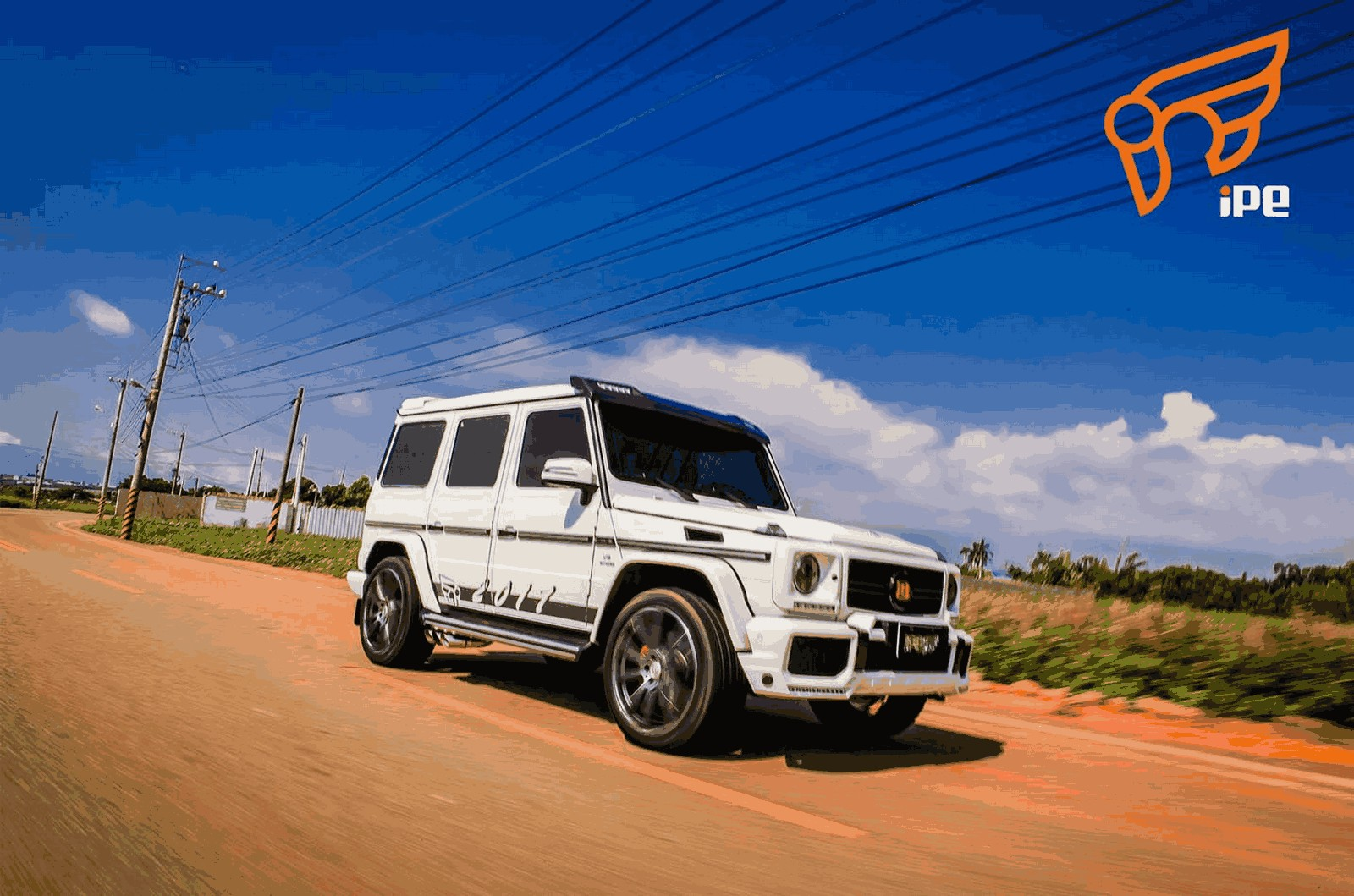 Ipe Exhaust System For Mercedes Benz Amg G63 W463 Gwagenparts